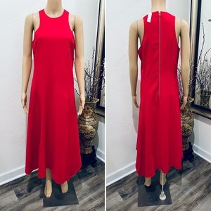 Cedric Charlier red long dress 10